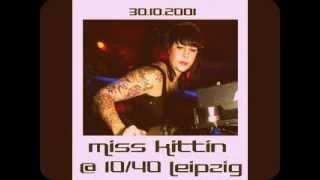 Miss Kittin @ 10/40 Leipzig - 30.10.2001