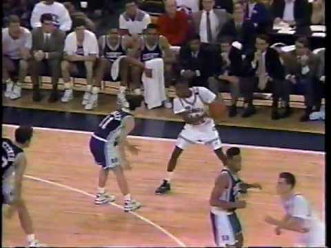 Kenny Anderson Destroys Bobby Hurley( The Move )
