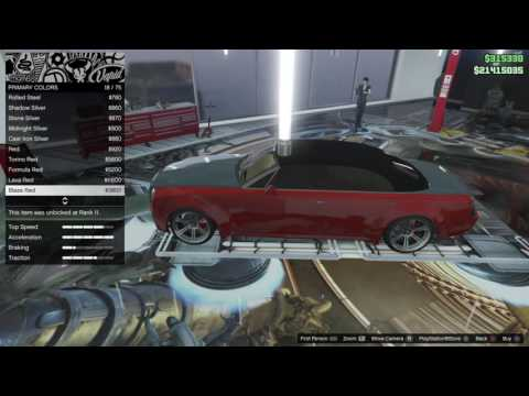 GTA 5 Customizing Cars in CEO garage part 1