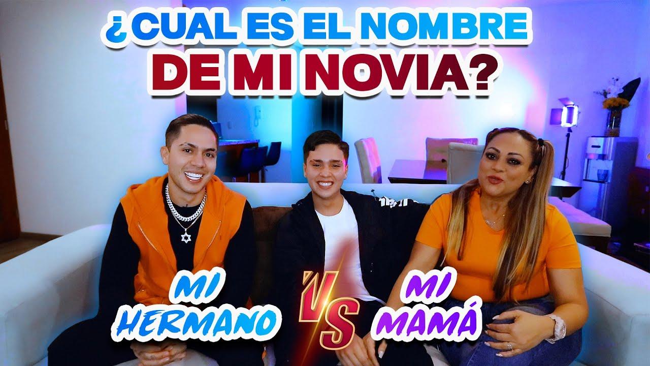 ¿Quién me conoce más? MI HERMANO VS MI MAMÁ 😱 Cesar Pantoja