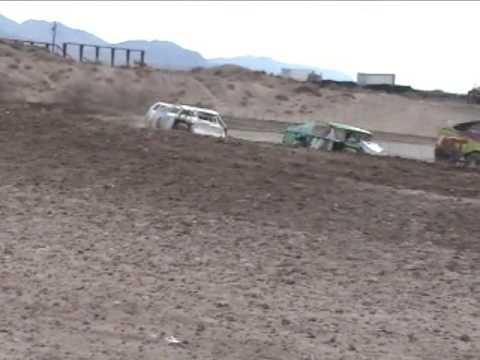 Death Valley Speedway - Heat 1st day
