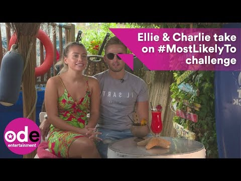 Love Island's Ellie and Charlie take on #MostLikelyTo challenge