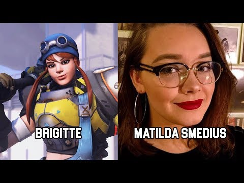 Characters and Voice Actors - Overwatch (Update 5)