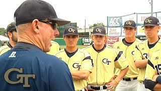 Georgia Tech Head Coach Danny Hall Speech Before ACC Baseball Championship