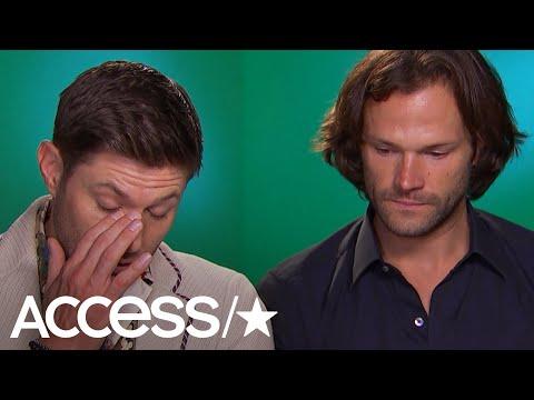Jared Padalecki and Jensen Ackles Get Emotional Over 'Supernatural' Fans