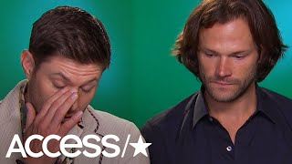 'Supernatural's Jared Padalecki & Jensen Ackles Get Emotional Over Fans & Finale
