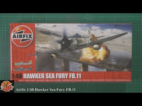 Airfix 1/48 Hawker Sea Fury FB.11 review