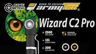 Trên tay siêu phẩm đèn pin EDC ARMYTEK Wizard C2 Pro - Chuyentactical.com