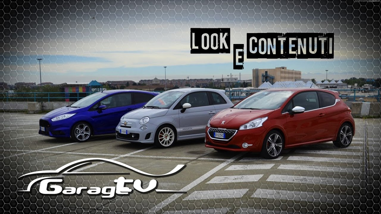 fiesta st vs fiat 500 abarth - auto express