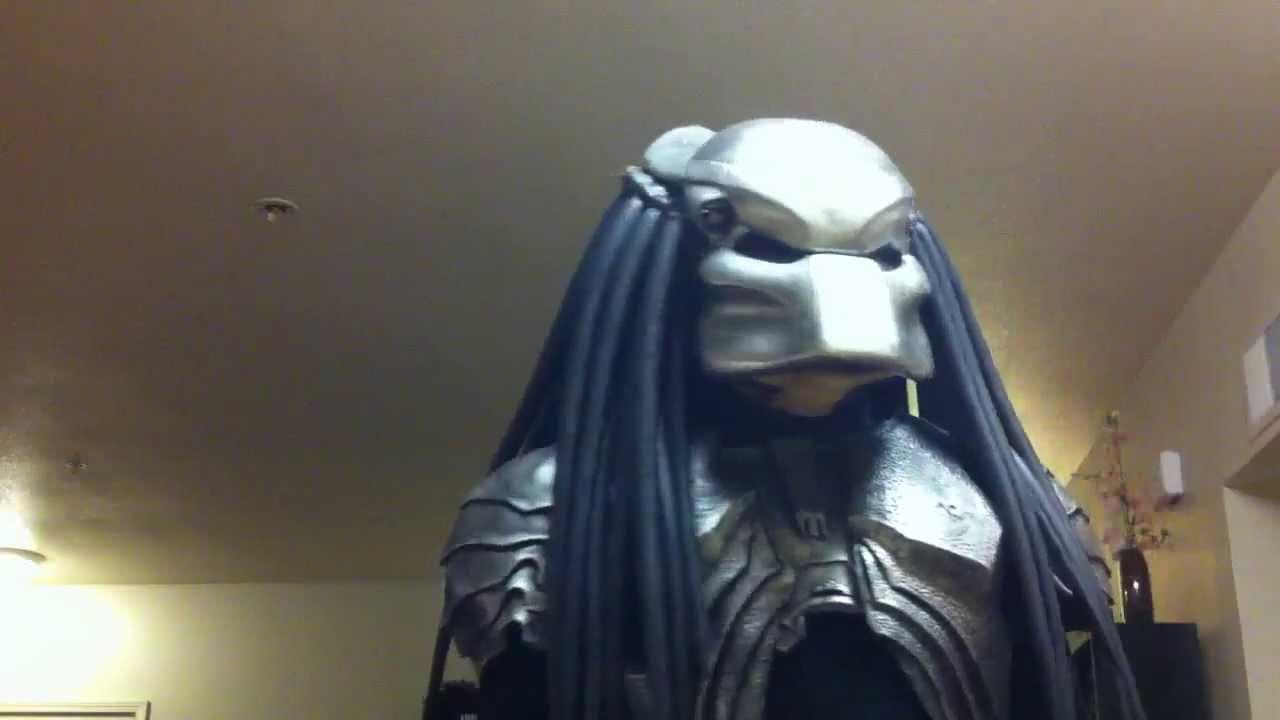 & Scar Predator Avp Costume - YouTube