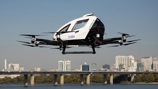 video: South Korea tests flying taxis in Seoul in glimpse of future