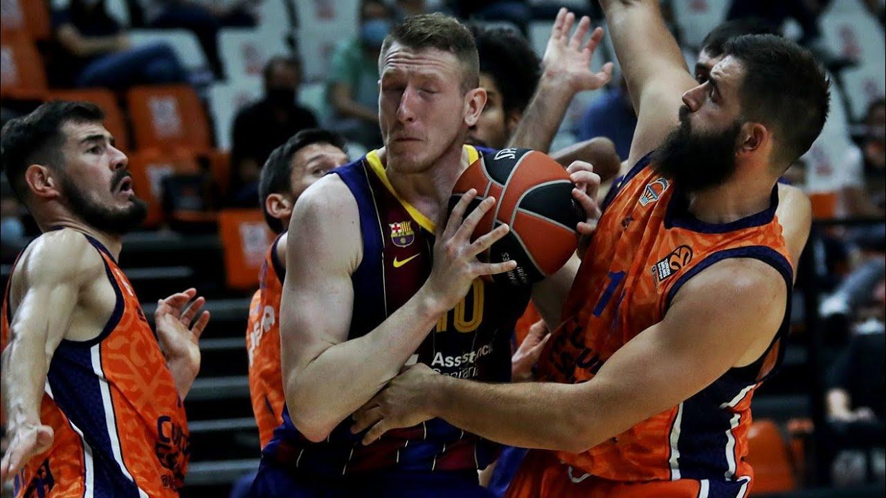 Rolands Smits drops 15 Pts vs Valencia:SPG BASKETBALL