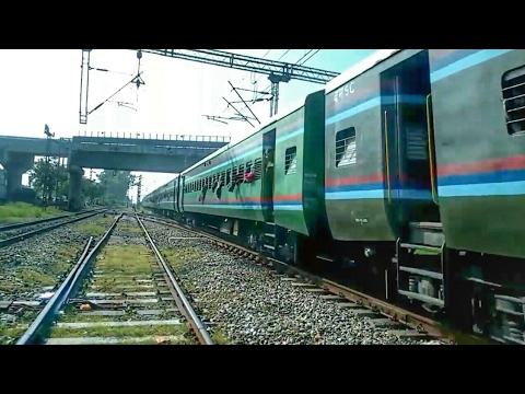 The MILITARY Train of Indian Railways!!