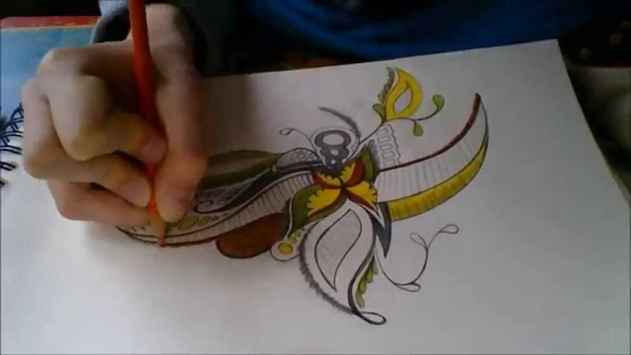 Drawing inspiration 4 natural color doodle youtube for What to draw inspiration