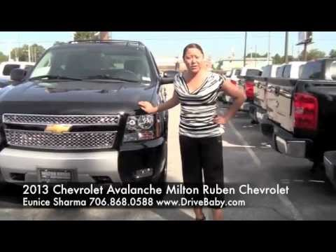 Nice 2013 Chevrolet Avalanche At Milton Ruben Chevrolet With Eunice Sharma In Augusta  Ga