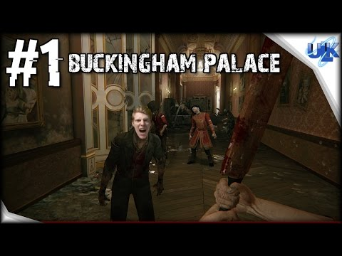 Zombi | Gameplay Walkthrough Part 1 | BUCKINGHAM PALACE | PS4 ZombiU