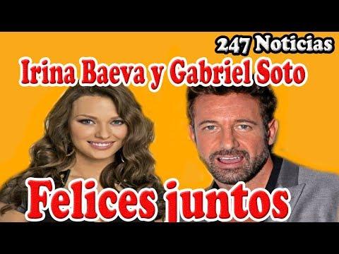 ¿Irina Baeva y Gabriel Soto disfrutan los días felices juntos?