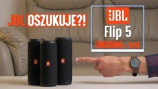 JBL Flip 5 - polski UNBOXING + test (vs Flip 4)