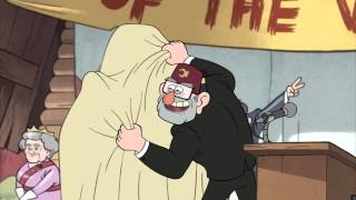 Grunkle Stan - But enought about me... behold! Me!