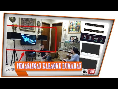 CARA PEMASANGAN KARAOKE RUMAHAN AUDIOBANK AB1100 |MESIN PLAYER KARAOKE