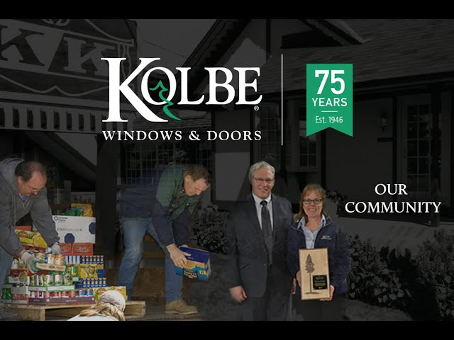 Kolbe Windows & Doors 75th Anniversary-Our Community