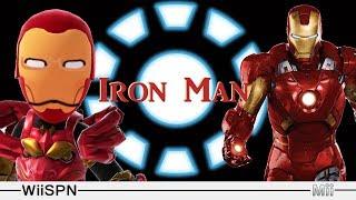 Mii Maker: How To Create Iron Man!