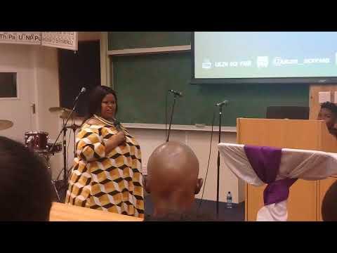prophetess Khanyo Ndlela @UKZN-PMB-SCF (REVIVAL DAY2)