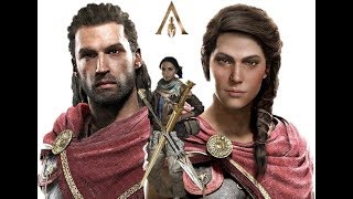 Assassin's Creed Odyssey: Alexios/Kassandra, First Civ and Modern Day