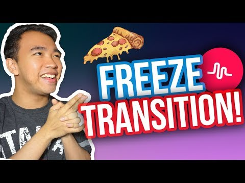 MUSICAL.LY FREEZE TRANSITION TUTORIAL! #FreezeTransition *NEW*