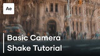 Temel Kamera Sarsıntısını Oluşturma Etkileri | Öğretici Sonra