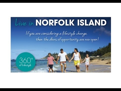 Norfolk Island, visit, live and invest.