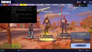 Fortnite Battle Royale: Clan Tryouts + Playground Mode W/Subscribers (INTERACTIVE STREAMER)