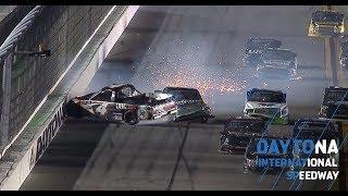 Kbm Teammates Involved In Late Wreck At Daytona