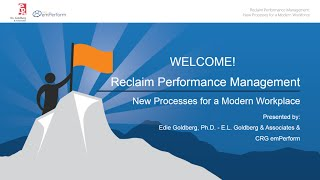 Reclaim Performance Management - New Processes for a Modern Workplace
