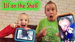 Elfie Selfies! Hilarious Elves Prank Dad