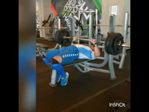 Powerlifting Türkiye 150kg Bench Press 3x3 Road 170