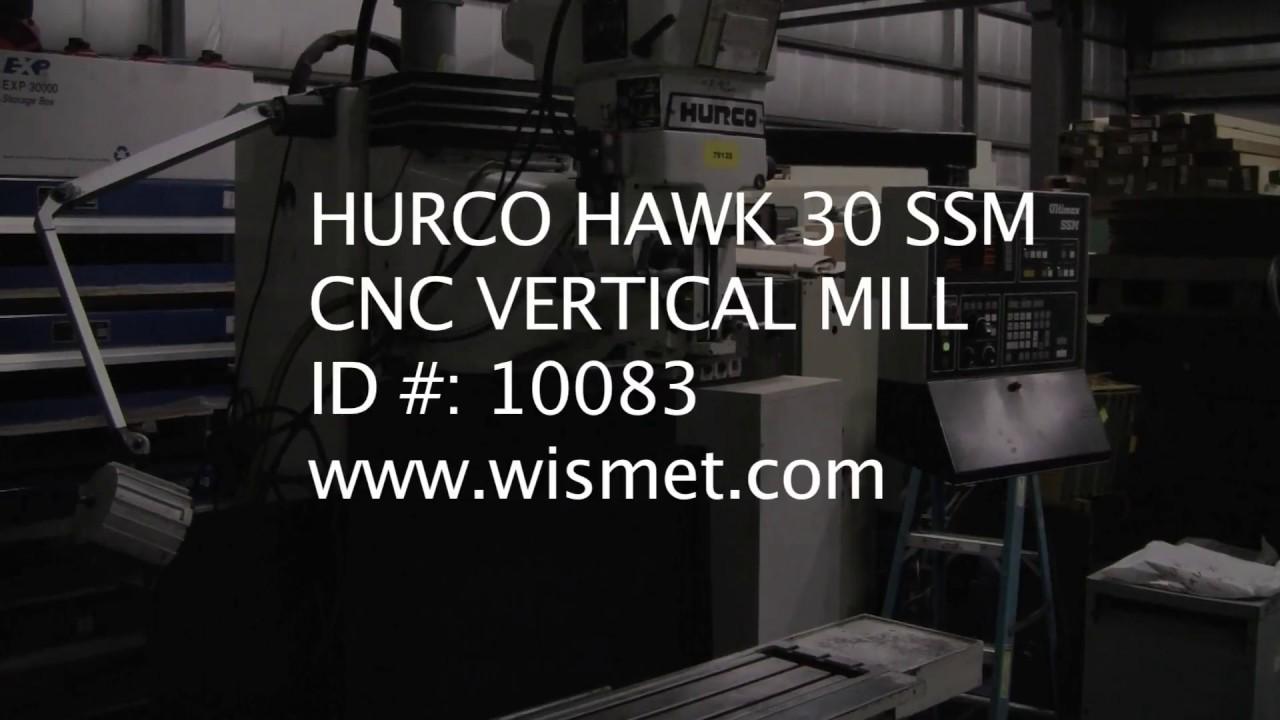 HURCO 30 SSM, CONVERSATIONAL CONTROL, 35 X 18 X 20 TRAVELS, 1999