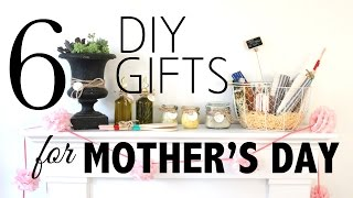 6 DIY Gifts for Mother's Day