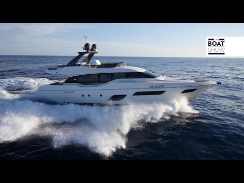 [ENG] FERRETTI 700 - Review - The Boat Show