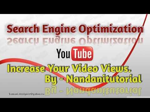 Youtube SEO Tips | Increase YOUTUBE Views | Hindi | Nandani Tutorial