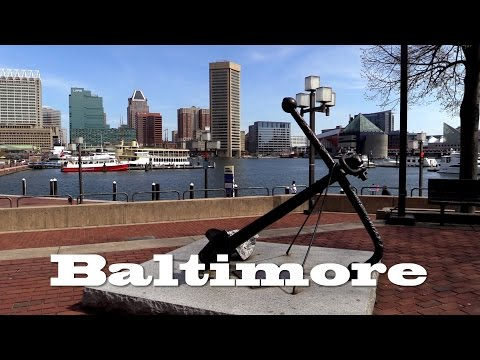 Baltimore, Travel film with sights, docu a circular trip (7/7)