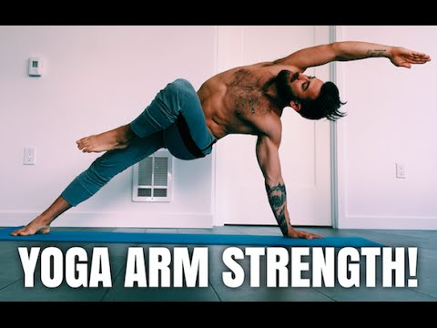 YOGA WORKOUT FOR ARM STRENGTH!