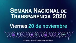SEMANA NACIONAL DE TRANSPARENCIA 2020