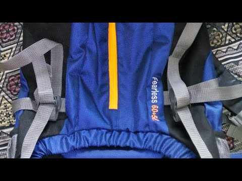 Impulse 65 Lt Rucksack Backpack Unboxing