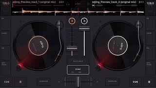 Mix edjing DJ music mixer