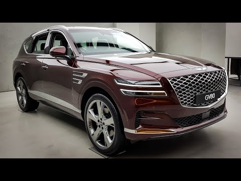 FIRST GENESIS SUV - 2021 Genesis GV80 Interior&Exterior First Look (5&7 Seat Configuration)