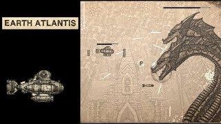 Earth Atlantis - Galaga bajo el mar
