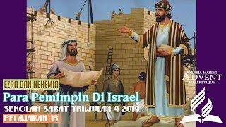 Sekolah Sabat Dewasa Triwulan 4 2019 Pelajaran 13 Para Pemimpin Di Israel (ASI)