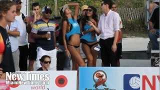 Model Beach Volleyball