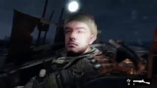 Metro Exodus - The Volga: Take Over Tugboat Dock: Nighttime Surprise Attack Gameplay (2019)